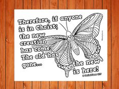 The 'New Creation' Printable is a fun printable that children can color as they discuss what it means to be a new creation in Christ. Preschool Bible Lessons, Preschool Crafts, Sunday School Lessons, Sunday School Crafts, Christ Object Lessons, New Creation In Christ, American Heritage Girls, Quilt Block Patterns, Quilt Blocks