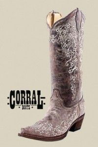 My cowboy boots!!!! Can't wait till I unwrap that Christmas present!!!!!!