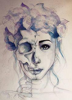 Weird skull fsce
