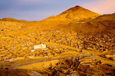 Potosi, Bolivia -- my mamina is from here, we've got to go and visit soon