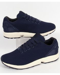 Adidas Zx Flux Trainers Navy