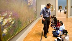Have lesson plans and teacher guides for Monet.
