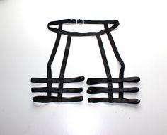 Custom Unisex Thigh and Waist Three Strap Leg by origamicustoms