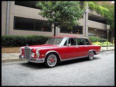 1969 Mercedes Benz 600 SWB Limosine