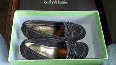 kelly & katie brown wedge loafers