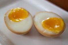 ramen style soft boiled eggs recipe