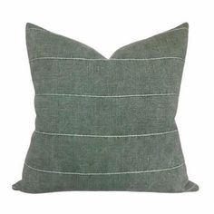 "Linen + Cloth Curated Collection ""Ashton"" // Bastideaux Bogo, Kufri Cusco , Kufri Rex, Faso in Drake// Designer Pillow Combo // Pillow Set Green Pillow Covers, Green Throw Pillows, Decorative Pillow Covers, Accent Pillows, Cushion Covers, Duvet Covers, Designer Pillow, Designer Throw Pillows, Rose Tarlow"