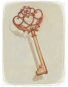key tattoo. I'd need it in a silver version