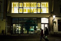 Better Doggy Style Than no Style - At the City Art Museum Ljubljana through 13 November. via Piran Cafe