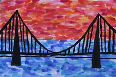 Art With Mr Hall: Bridge Silhouettes