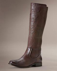 Frye: Melissa Scrunch stretch boot