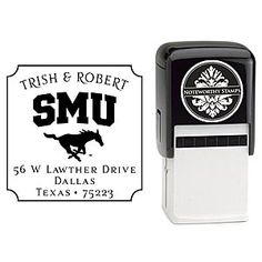 purchase cheap 7754b 85ba6 Gifts - Stamps  amp  Embossers - Stamps - SMU   FineStationery.com Custom  Return