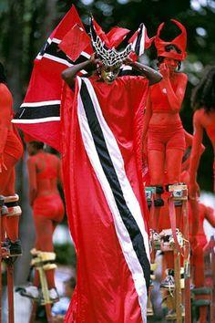 The Dancing Spirits of Trinidad. Trinidad and Tobago. Trinidad Carnival, Caribbean Carnival, Stilt Costume, Jamaica, Port Of Spain, Caribbean Culture, West Indian, Carnival Costumes, Grenada