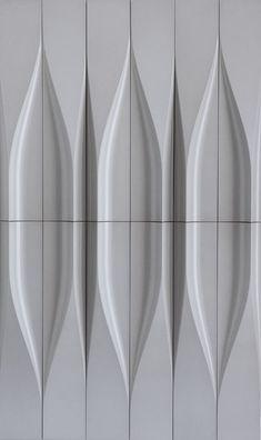 Walker Zanger Kaza Liquid Form (With images) Cladding Design, Wall Cladding, Facade Design, Tile Design, Textured Wall Panels, 3d Wall Panels, Glass Tile Backsplash, Leather Wall, Wall Patterns