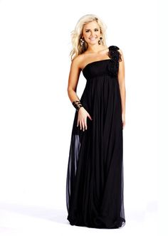 Long black maternity bridesmaid dresses