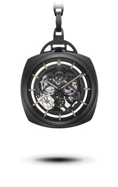 OFFICINE PANERAI - Pocket Watch Tourbillon GMT Ceramica PAM00446