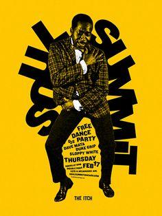 Soul Summit poster design by Scott Williams.