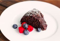 Don't worry about the carb count with this chocolate cake. The recipe uses quinoa, lemon juice, cocoa powder and other healthy alternative ingredients, but a...