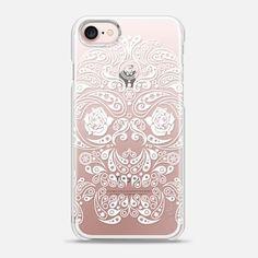 iPhone 7 Case Paisley Skull
