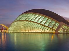 The Hemispheric Valencia Spain. I dont really know what it is for but I thought it was cool!!