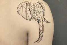 Significado de los tatuajes geométricos - los diseños que están de moda