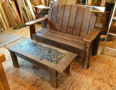 TF Workshop: Log-Leg Bench