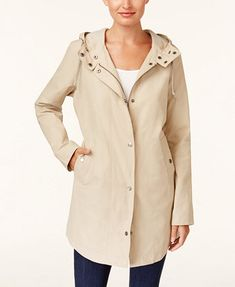 Image 1 of Style & Co Hooded Anorak Jacket, Created for Macy's