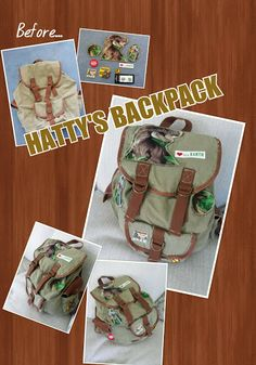 Hattys Backpack from Andys Dinosaur Adventures.