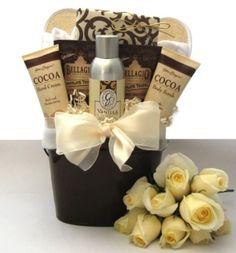 Sweet Treats New Mom Spa Gift Basket