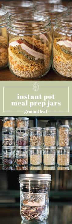 Instant Pot Meal Prep Jars
