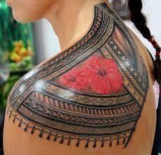 Tribal, this is beautiful! #hawaiiantattoosislands #hawaiiantattoostraditional