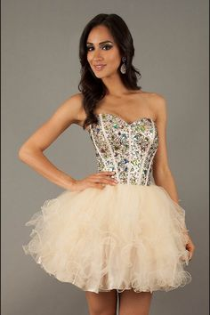 A cute prom or homecoming daytime dress!