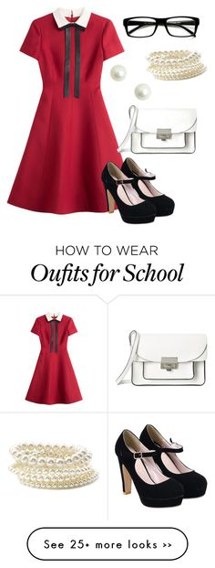 """old school"" by freshdee on Polyvore"