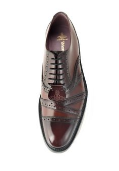bc544660ec2 Oxford Shoes with Star Punching