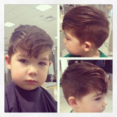 Little boys haircut - Hairstylist: Carly Wittrock