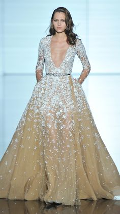 Zuhair Murad Haute Couture Spring/Summer 2015 via @stylelist | http://aol.it/1zwQWWo