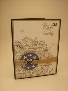 Stampin' Up! Medallion stamp is about to retire!