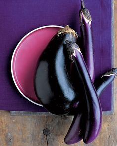 Martha's eggplant recipes