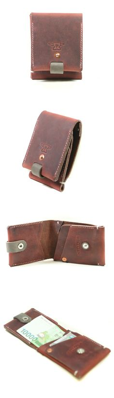 #Mens Copper slim wallets
