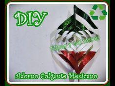Diy. Reciclaje. Adorno Colgante para fiestas Mexicanas.Diy. hanging ornament for…