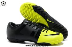 Volt-Black-Black Nike Green Speed GS TF Soccer Cleats