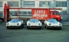 Lancia stratos rally cars