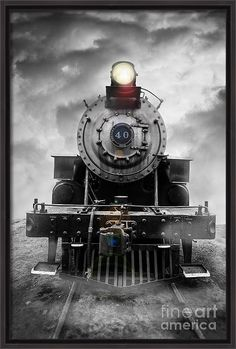 Essex. Train Canvas Print featuring the photograph Steam Train Dream by Edward Fielding Train Drawing, Standard Gauge, Old Trains, Vintage Trains, Train Art, Train Pictures, Train Engines, Rolling Stock, Train Tracks