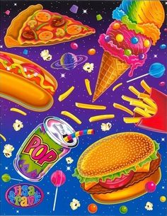 Lisa Frank Wallpaper Hd Lisa frank junk food