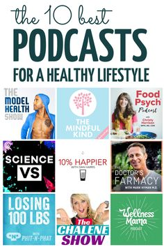 The 10 Best Health Podcasts for Women in 2019 Ready to feel healthier? Both mentally and physically? Here are the 10 best health and fitness podcasts for women that will give you the tips and daily motivation to create the healthy life you want. Nutrition Education, Sport Nutrition, Fitness Nutrition, Yoga Fitness, Physical Fitness, Healthy Nutrition, Nutrition Data, Yoga Gym, Workout Fitness
