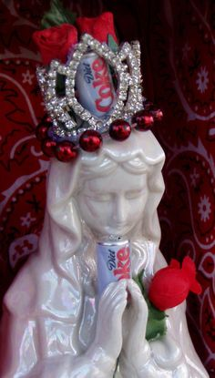Our Lady of Perpetual Diet Coke.. so awesome!