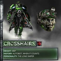 Crosshairs Transformers