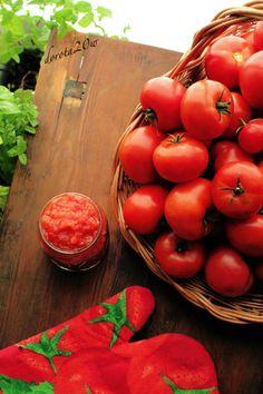 Domowy przecier pomidorowy – przepis + film