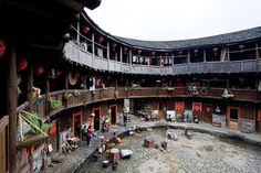Traditional Chinese Tulou House