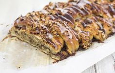 Recipe for homemade Danish Cinnamon Twist (Kanelstang). Delicious and traditional Danish recipe. Recipe with easy step-by-step instructions and pictures.